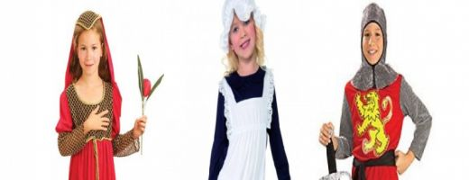 Childrens Costumes Medieval and Tudor