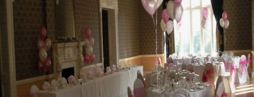 Balloon Table Bouquets