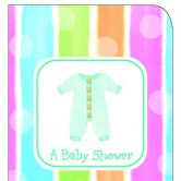 Invite Baby Shower Baby Clothes