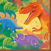 Luncheon Napkins Prehistoric Party