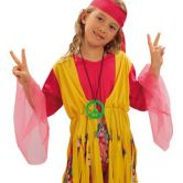 Hippy Girl Child Costume