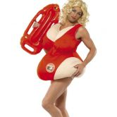 Baywatch Adult Padded Costume