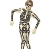 Skeleton Second Skin Costume, Nude