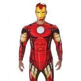 Adult Iron Man Classic Deluxe Costume L/C