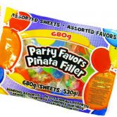 Assorted Pinata Filler Party Favours and Party Sweets, 680g