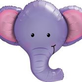 Ellie the Elephant Shape Foil Balloon 39