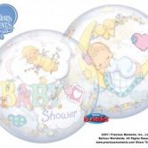 Precious Moments Baby Shower Bubble Balloon 22