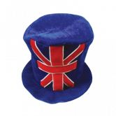 Union Jack Topper Hat, Deluxe