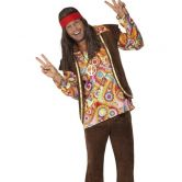 Psychedelic 1960's Hippy Costume