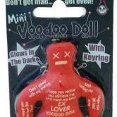 Ex Lover Mini Voodoo Doll Keyring
