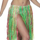 Hula Skirt Multi Coloured 56cm