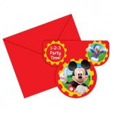 Invitations Mickey Mouse Clubhouse