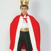 Kings Robe Child Costume