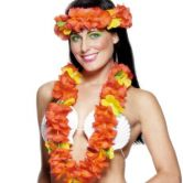 Red Leis Set