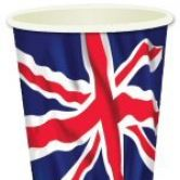 Sold Out - Union Jack party cups