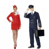 Pilots and Air Hostess Costumes