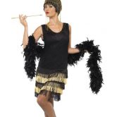 1920'S Fringed Flapper Adult Costume