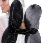 Angel Net Wings Black