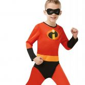 Official Disney Incredibles 2 Childs Costume, Unisex Jumpsuit