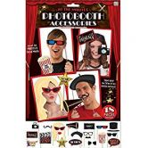 Oscars Photo Booth Selfie Props Movie Hollywood Premiere Awards Party Pack Selfie Kit