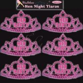 Mini Tiaras | Pack Of 6 Mini Hen Party Tiaras