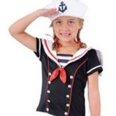 Sassy Sailor Child Costume