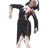 Zombie Nun Adult Costume