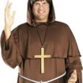 Friar Tuck Costume & Wig | Monk