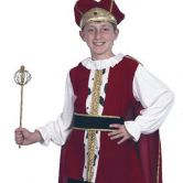 Medieval King Child Costume