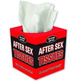 After Sex Tissues - Novelty Box of Tissues