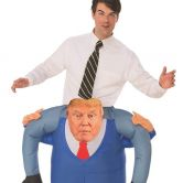 Donald Trump Presidential Piggyback Adult Costume