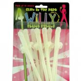 G.I.D Willy Drink Straws - Awaiting Stock