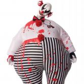 Official Adult's Creepy Inflatable Clown