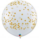 3ft Printed Confetti Balloon