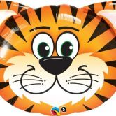 Tickled Tiger Jungle Animal SuperShape Foil Balloon 32