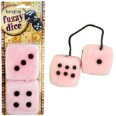 Fuzzy Dice (pink)