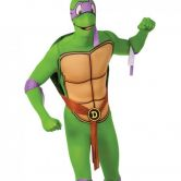 Adult Teenage Mutant Ninja Turtle 2nd Skin Donatello Costume