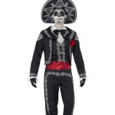 Day of the Dead Senor Bones Adult Costume