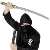 Ninja Sword and Scabbard Black Large