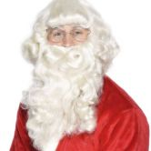 Luxury Beard & Wig Santa