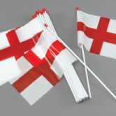 Out of Stock - Flag Hand Waving Plastic St George