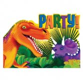 Item out of stock Postcard Invitations Prehistoric Party