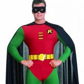 Official Adult's Robin Classic Batman Costume