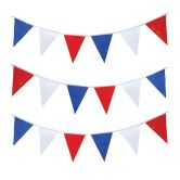 Bunting 10  meter red/white/blue