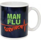 Man Flu Survivor Mug