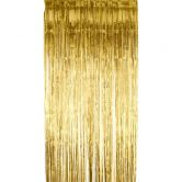 Tinsel Shimmer Curtain Gold