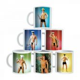 Male Strip Mugs | Mug with a hot man