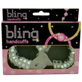 Bling Handcuffs - Silver
