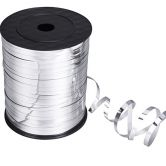 Metallic Silver Curling Ribbon