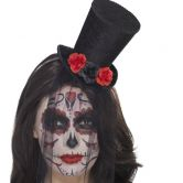 Day of the Dead Mini Top Hat